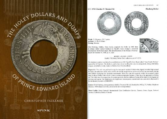 Holey Dollars and Dumps of Prince Edward Island by Cristopher Faulkner